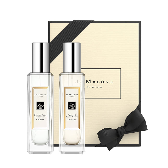 Jo Malone London English Pear & Freesia + Peony Blush Suede Duo 2 x 30 ml - Koch Parfymeri
