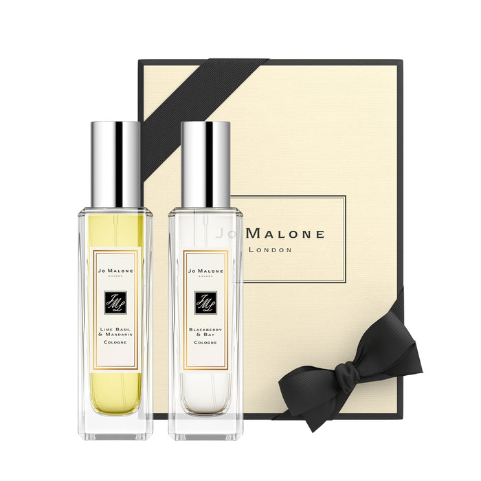Jo Malone London Lime Basil & Mandarin + Blackberry & Bay Duo 2 x 30 ml - Koch Parfymeri
