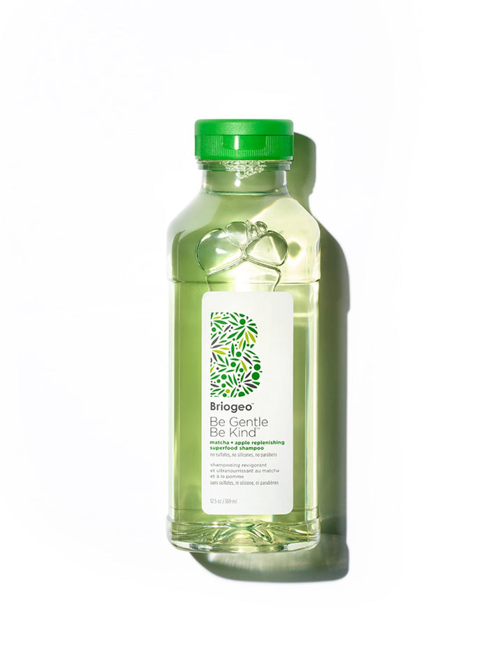 Briogeo Be Gentle, Be Kind Matcha + Apple Replenishing Superfood Shampoo 369 ml - Koch Parfymeri