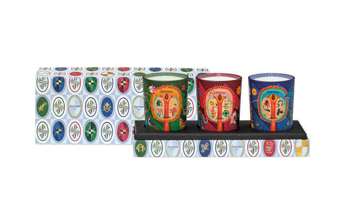Diptyque Three Candles Coffret 3x70 g