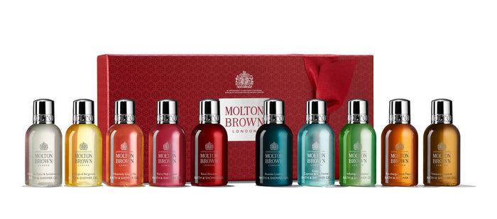 Molton Brown Stocking Filler Christmas Gift Collection 10x50 ml