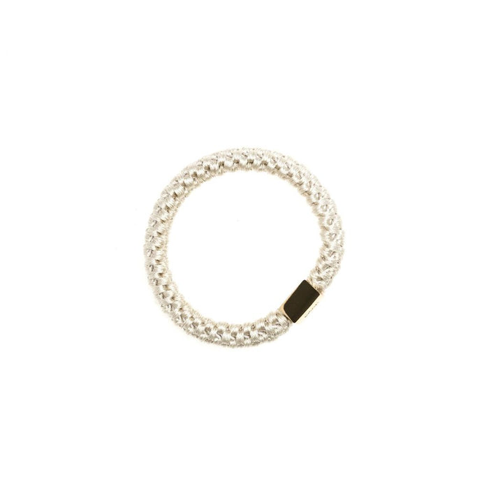 Dark Fat Hair Tie Sand - Koch Parfymeri