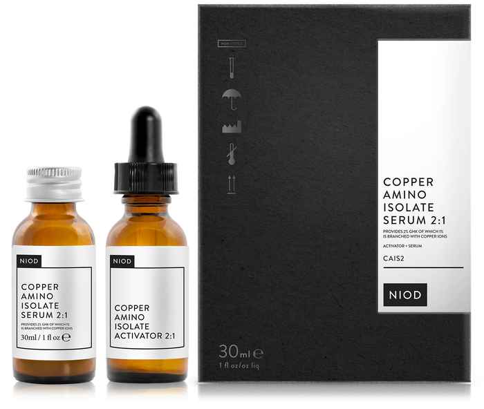 NIOD Copper Amino Isolate Serum 2:1 (CAIS2)