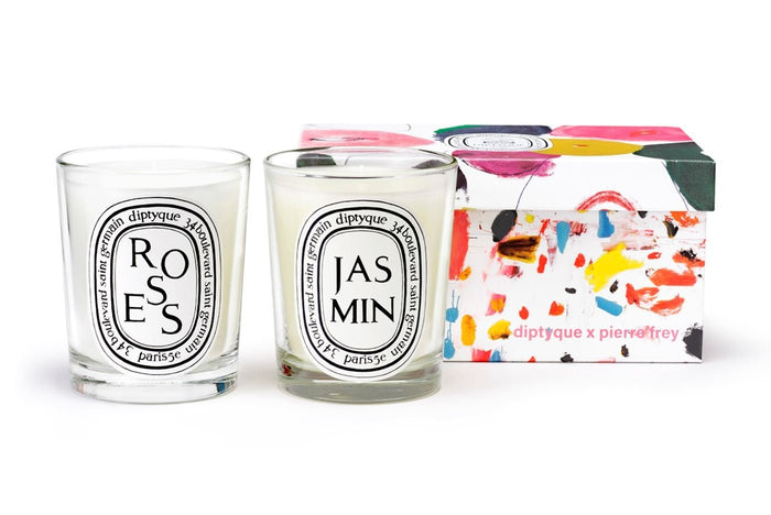 Diptyque Roses and Jasmin Candle Duo