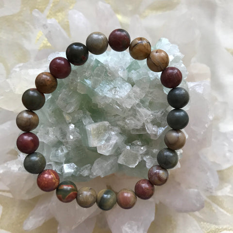 jasper mala lock dalmatian natural stone gongxumei product bracelet bead pendant love from prayer key beads bracelets yoga