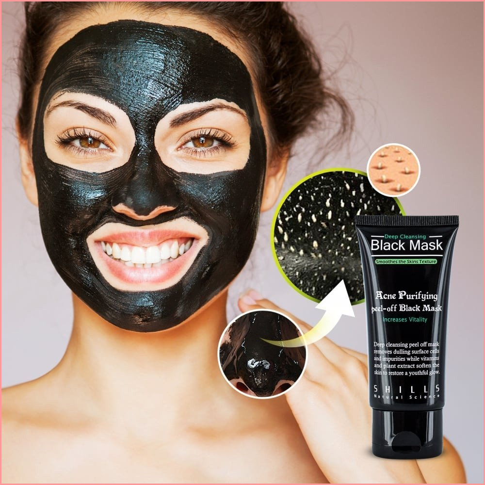 PEACHY™ PURIFYING BLACK MASK