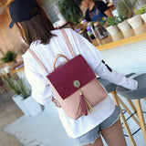 Designer Backpack with Tassel