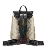 Serpent Print Designer Backpack
