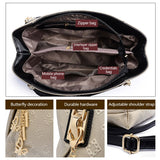 Designer Handbag Set (3 pcs)