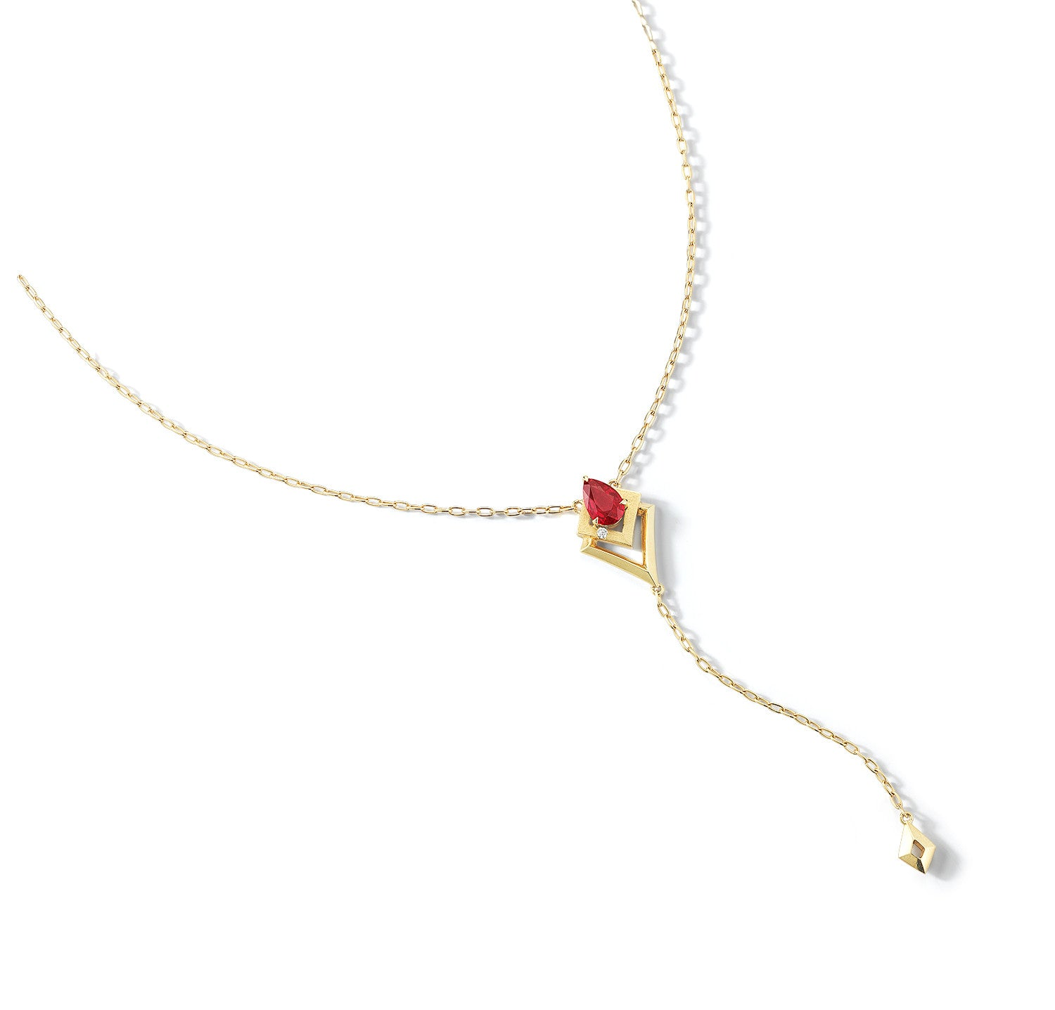 jewelry the in with pink wrapped filled sapphire red necklace emma ruby statement design gold jewellery wire