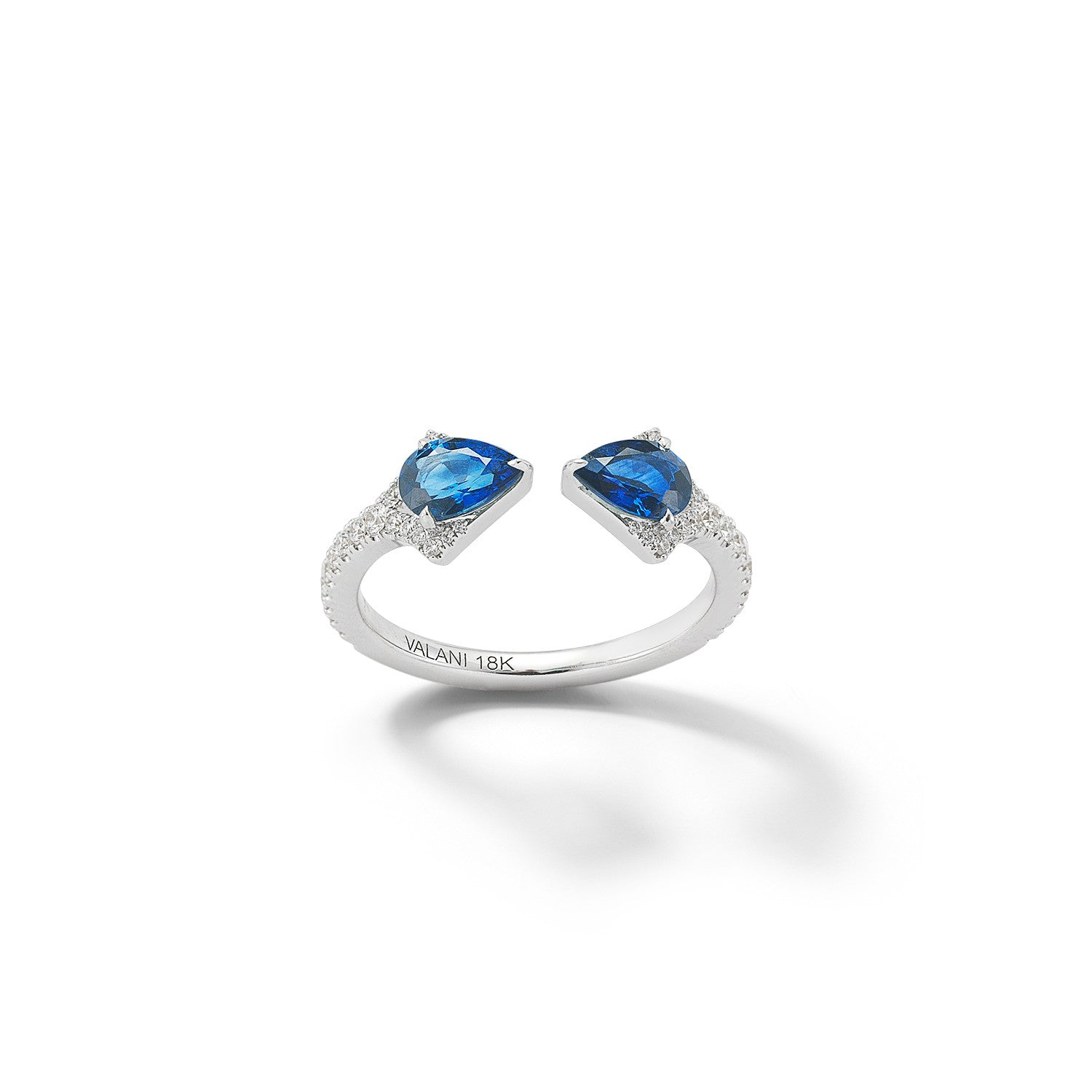 contemporary david rings rub engagement with finest ring product saffire in sapphire img halo over jewellery the bespoke london diamond ashton handmade set