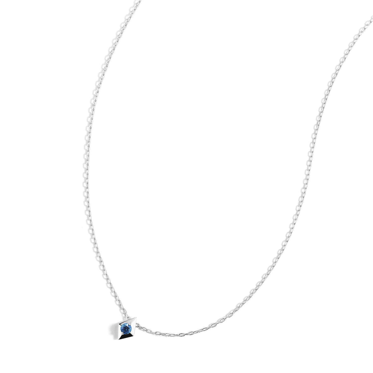 sapphire necklace jewellers icon london everley joy products fine