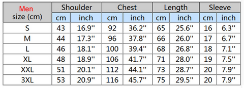 men-sizing-chart