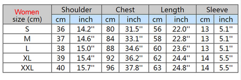women-sizing-chart