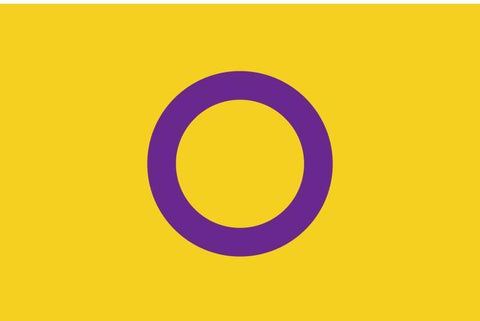 Intersex Pride Flag by Organization Intersex International Australia