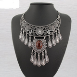 Vintage Boho Gypsy Necklace