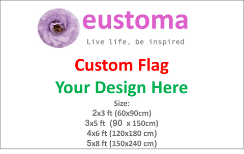 Custom Design Flag