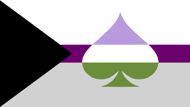 Demisexual Queer Space Combo Pride Flag