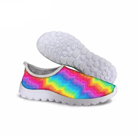 Rainbow Patterns Casual  Shoes