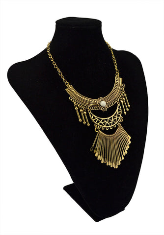 Bohemian Retro Long Tassel  Necklace
