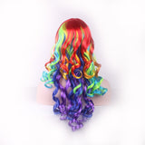 Multicolour Rainbow Wig
