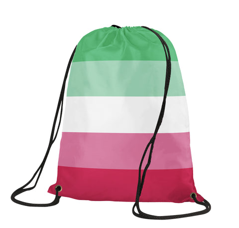 Abrosexual Drawstring Bag