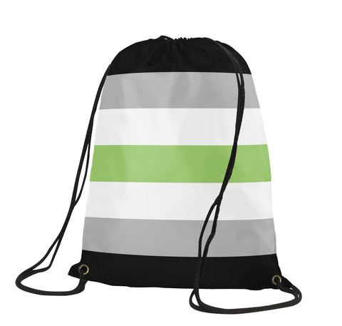 Agender Drawstring Backpack