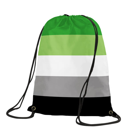 Aromantic Drawstring Backpack