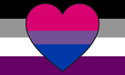 Asexual Biromantic Pride Flag