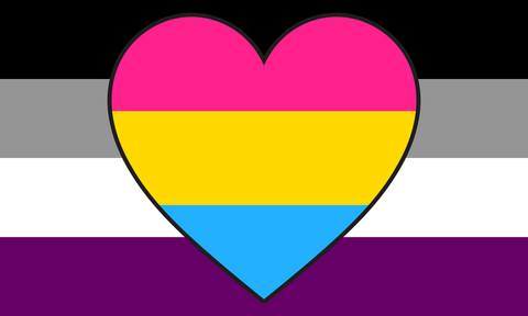 Asexual Panromantic Flag