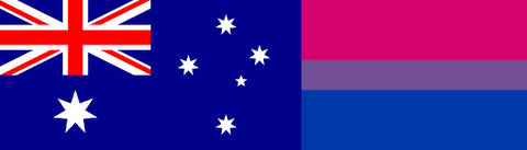 Aussie Bisexual Flag
