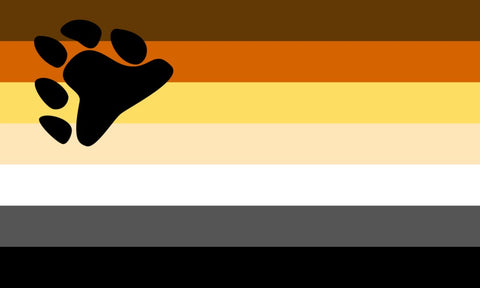 Bear Brotherhood Pride Flag
