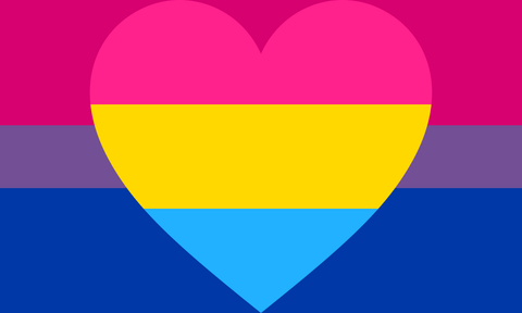 Bisexual Panromantic Pride Flag