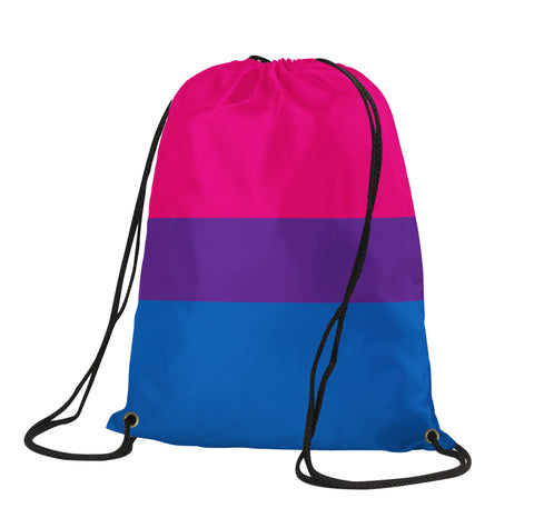 Bisexual Pride Drawstring Backpack