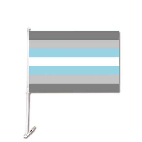 Demiboy Car Flag