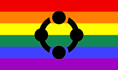 Rainbow Fetish Flag