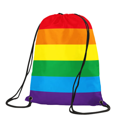 Gay Pride Drawstring Backpack