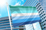Blue Gay Men Flag