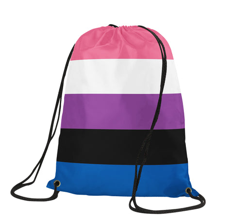 Genderfluid Drawstring Backpack