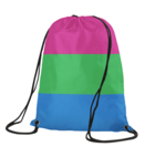Polysexual Drawstring Backpack
