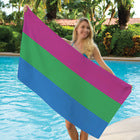 Polysexual Pride Towel