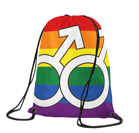 Pride Homosexual Drawstring Backpack