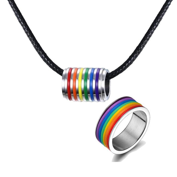 Rainbow Pride Jewelry Set