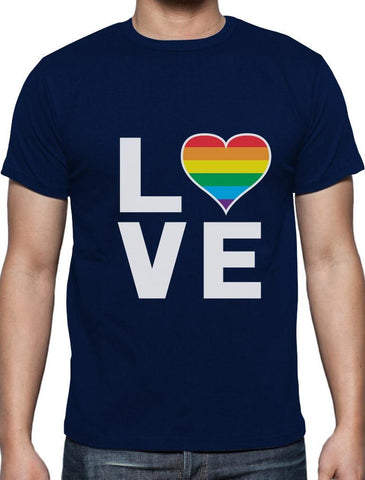 Love Pride Men's T-Shirt