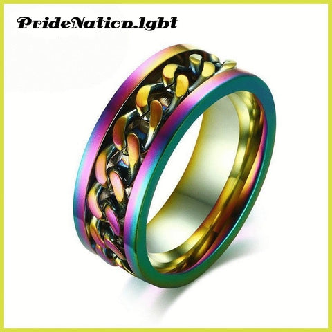 Punk Style Men's Finger Ring