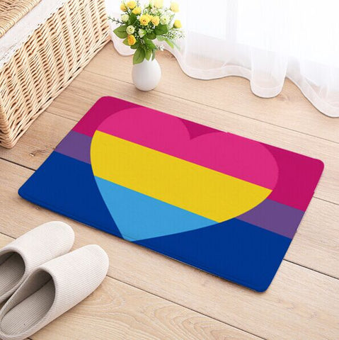 Bisexual Panromantic Rug