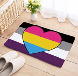 Asexual Panromantic Rug