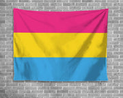 Pansexual Wall Hanging Tapestry
