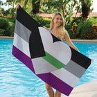 Demiromantic Pride Towel