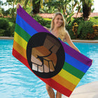 Pride Fist Towel